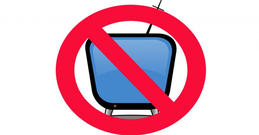 NO TV for rich คนรวยไม่ค่อยดูทีวี