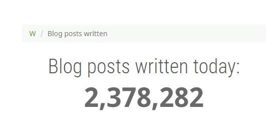 จำนวน Blog