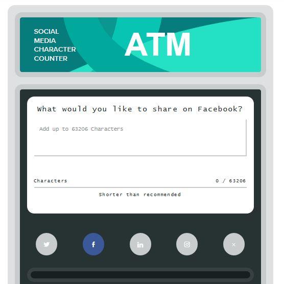 เครื่องมือช่วยนับตัวอักษรสำหรับพิมพ์ลง Social Media ฟรีๆ 6