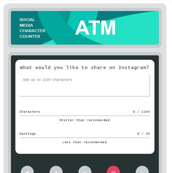 เครื่องมือช่วยนับตัวอักษรสำหรับพิมพ์ลง Social Media ฟรีๆ 5