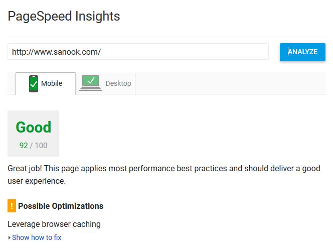 SEO Trick 1 Page Speed Insight recommendation