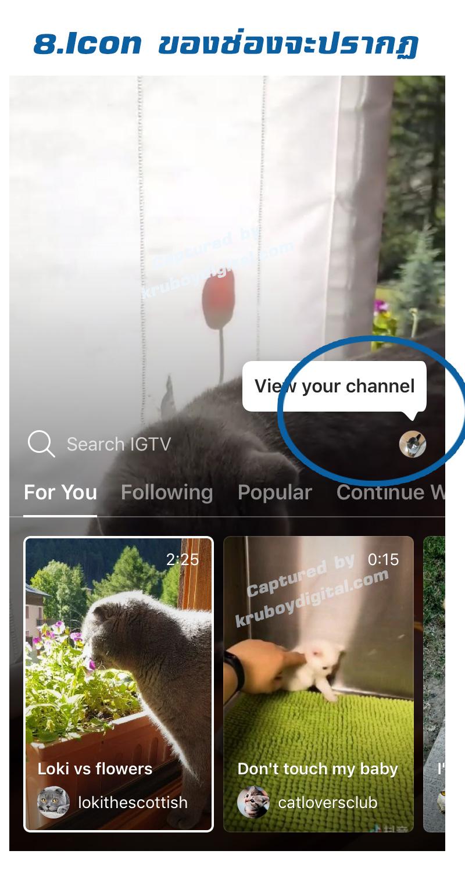 IG TV ไอจี ทีวี