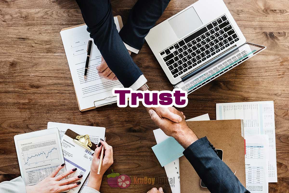Trust ความน่าเชื่อถือ SEO