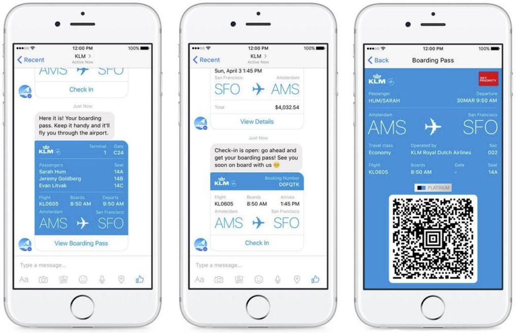 Chatbot ของ สายการบิน KLM ช่วยจัดการเที่ยวบิน