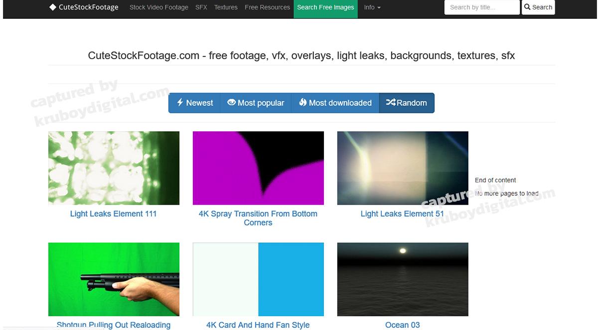 17 เว็บไซต์แจกฟรีวิดีโอคลิป สำหรับทำ VDO Content โหลดด่วน! 15
