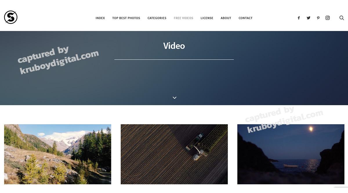 17 เว็บไซต์แจกฟรีวิดีโอคลิป สำหรับทำ VDO Content โหลดด่วน! 3