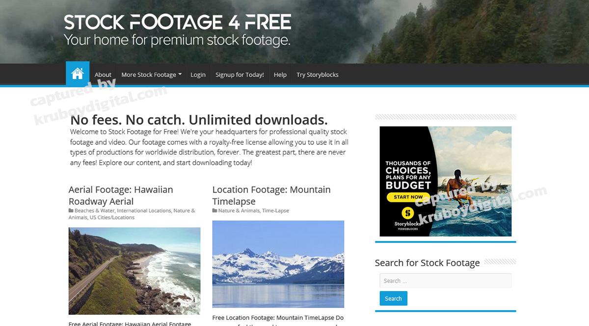 17 เว็บไซต์แจกฟรีวิดีโอคลิป สำหรับทำ VDO Content โหลดด่วน! 5