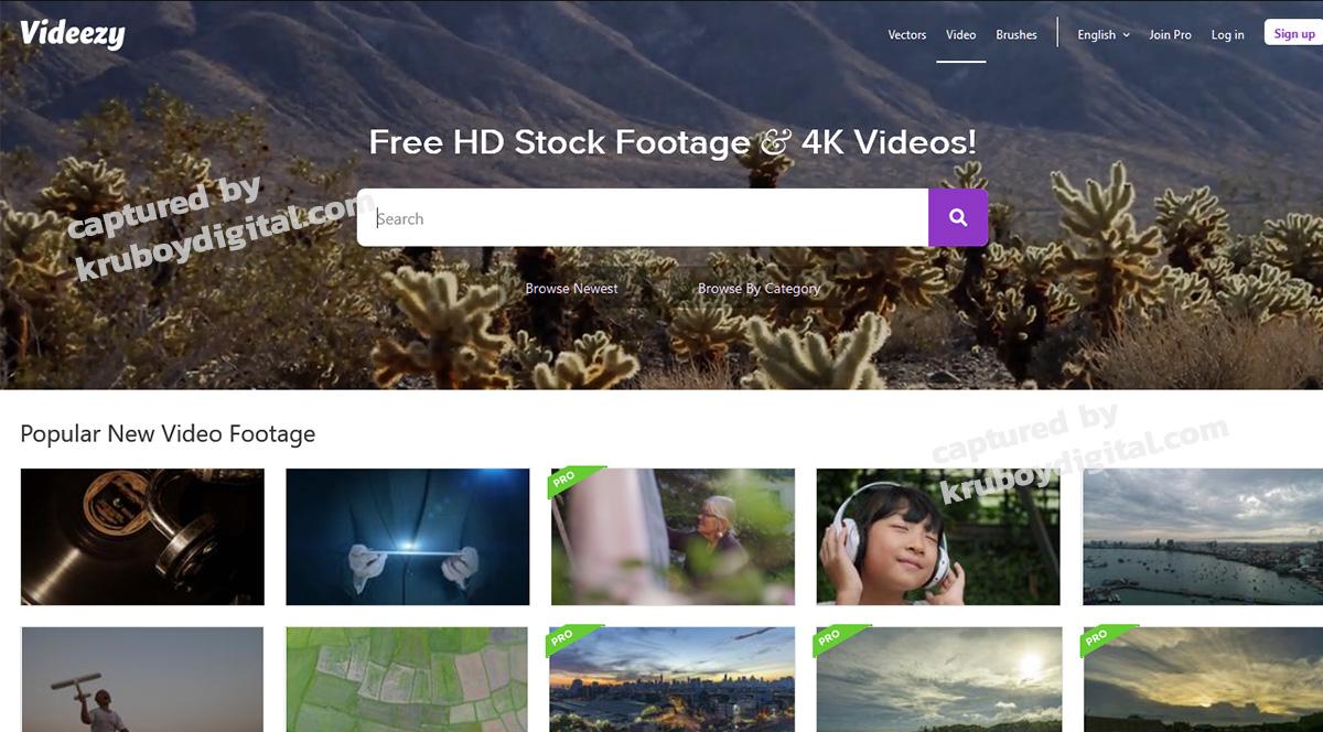 17 เว็บไซต์แจกฟรีวิดีโอคลิป สำหรับทำ VDO Content โหลดด่วน! 6